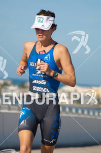 Pip Taylor in the run portion of the 2010 Foster Grant Ironman World Championship 70.3 in Clearwater,FL.