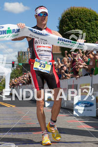 Craig Alexander wins the 2011 Ford Ironman Coeur d' Alene