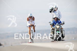 Chris Lieto competing in the bike portion of the 2011 Ford Ironman World Championship in Kailua-Kona. HI