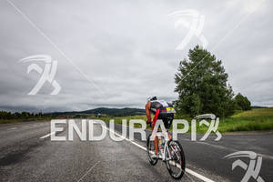 Viktor Zyemtsev on bike at the Ironman Coeur d' Alene on June 24, 2012 in Coeur d Alene, ID