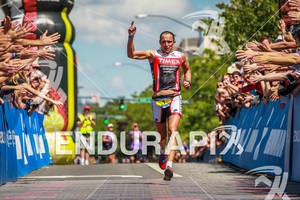 Viktor Zyemtsev is number one at the Ironman Coeur d' Alene on June 24, 2012 in Coeur d Alene, ID