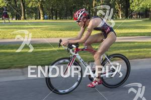 2012 Lifetime Fitness Triathlon, Gwen Jorgensen, 2012 Olympian on the bike course