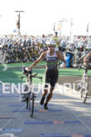 Virginia Berasategui heads out to thew bike course2010 Ford Ironman…