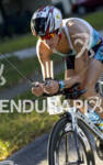 Amanda Stevens Bike Clearwater Blue Zipp PowerBar Tyr