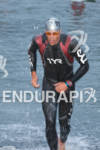 Andy Potts exits the water at the Rohto Ironman 70.3…