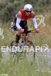 Ryan Rau on the bike at the Rohto Ironman 70.3…