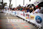 Big crowds line the finish at the Rohto Ironman 70.3…
