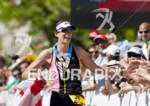 Women's pro winner Heather Wurtele reaches out to receive fans…