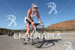Jodie Swallo (GBR) on bike at the 2011 Ford Ironman,…