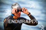 Craig Alexander prior to start at the 2011 Ford Ironman…