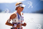 Julie Dibens on run at the 2011 Ford Ironman Coeur…