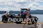 Julie Dibens and film crews at the 2011 Ford Ironman…