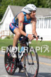 Tim Snow on bike at the 2011 Ford Ironman Lake…