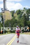 Ben Hoffman on run at the 2011 Ford Ironman Lake…