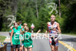 Kyle Pawlaczyk runs through aid station at the 2011 Ford…