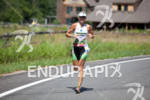 Jacqui Gordon on run at the 2011 Ford Ironman Lake…