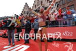 Faris Al-Sultan celebrates his victory at the Frankfurter Sparkasse Ironman…