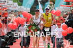 Caroline Steffen (SUI) at the finish of the Frankfurter Sparkasse…