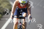 Danne Boterenbrood,  on the Bike portion of the Ironman 70.3…