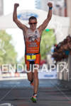 Patrick Evoe (USA) finishes second at the 2011 Ford Ironman…