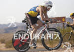 Jeffrey Symonds rides during the Ironman 70.3 World Championships