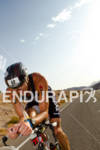 Andy Potts (USA) on bike at the Ironman World Championship…
