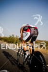 Craig Alexander (AUS) on bike competing at the Ironman World…