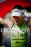 Michael Weiss (AUS) at finish line after competing in the…