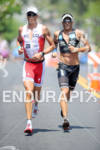 Bockel/Aigroz competing in the run portion of the 2011 Ford…