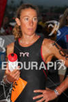 Chrissie Wellington, (GBR) is focused prior to the start of…