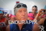 Lew Hollander (USA) gets ready to get into the water…