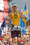 Timo Bracht (GER) finishes the 2011 Ford Ironman World Championship