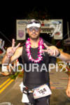 Celeb chef Joe Bastainich (USA) finishes the 2011 Ford Ironman…