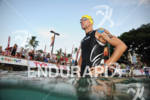 Andreas Raelert before the swim start of the 2011 Ford…