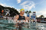 Craig Alexander before the swim start of the 2011 Ford…