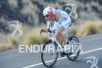 Dirk Bockel competing on the bike portion of the 2011…