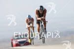 Raynard Tissink competing in the bike portion of the 2011…