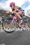 Caitlin Snow competing in the bike portion of the 2011…