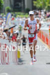 Rasmus Henning at Hot Corner running up Palani Road after…
