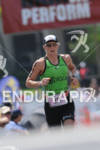 Tine Deckers competing in the run portion of the 2011…