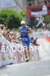 Sonja Tajsich competing in the run portion of the 2011…