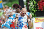 Dirk Bockel crosses the finish line at the 2011 Ford…