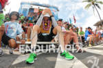 Timo Bracht at the finish of the 2011 Ford Ironman…