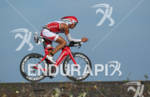 Rasmus Henning of Denmark on the bike at the 2011…