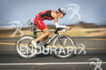 Karin Thuerig competing in the bike portion of the 2011…