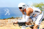 Chris Lieto competing in the bike portion of the 2011…