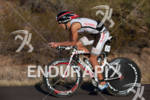 Dominik Berger (AUT) on bike at the 2011 Ford Ironman…