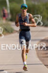 Sebastian Kienle (DEU) on run at the 2011 Ford Ironman