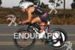 Lesley Paterson on bike at the  Ironman 70.3 California on…