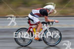 Paul Ambrose on bike at the  Ironman 70.3 California on…